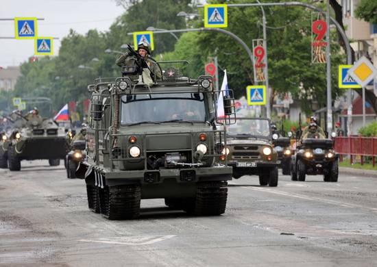 Aleut für die Arktis. Die russische Armee erhält Zwei-Link-Transporter