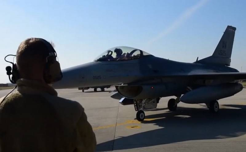 USA transfers part of F-16 fighters from Germany to Italy