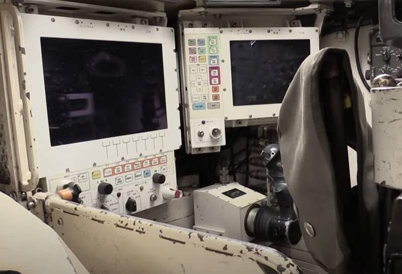 O interior de um dos tanques mais caros - Japonês Tipo 10 Hitomaru