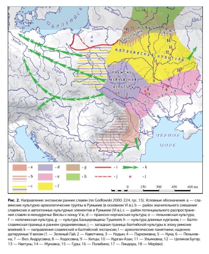 Como os antigos eslavos lutaram