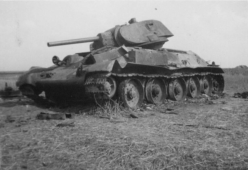 Поражаемость Т-34. Отчет «Броневого института»