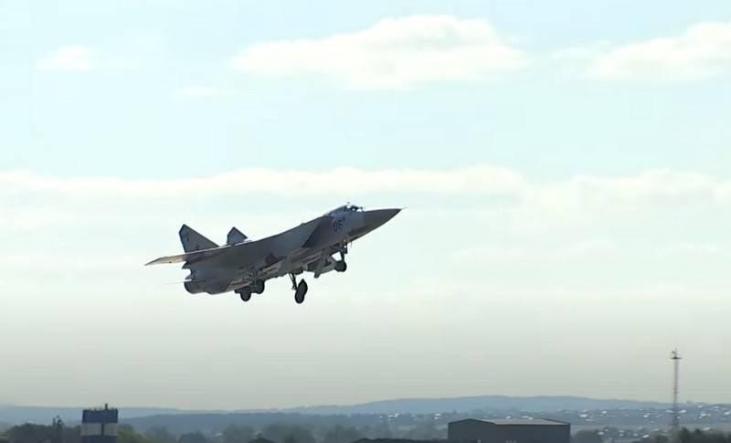 Ein Video von MiG-31-Flügen in der nahen Stratosphäre erschien im Internet