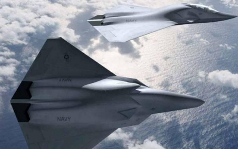 ABD Donanması, F / A-18E / F Super Hornet'in yerini alacak yeni uçak geliştirmeye başladı