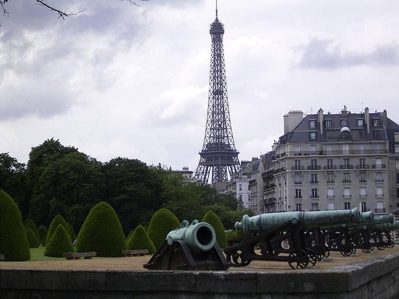 Artillery of the conqueror of Europe