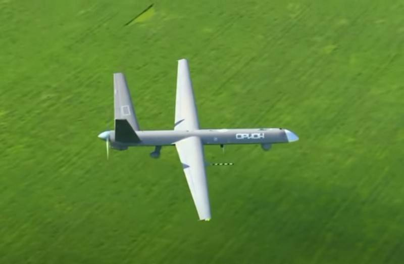 The Ministry of Defense signed a contract for serial deliveries of the Orion drone