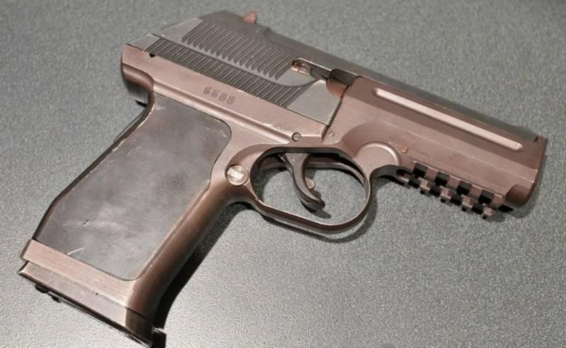 TsNIITOCHMASH showed the PSS-2 silent pistol