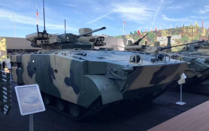 """""""Dragoon"""" mais """"Boomerang-BM"""": no """"Army-2020"""" mostrou um novo BMP """"Manul"""""""