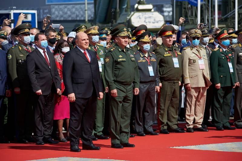 Resultados do primeiro dia do fórum técnico-militar internacional Exército-2020