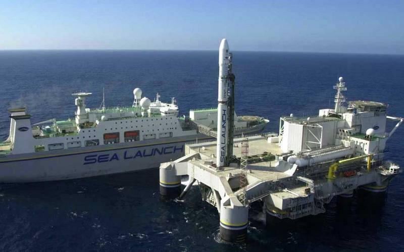 Il lancio sul mare del cosmodromo galleggiante sarà ripristinato