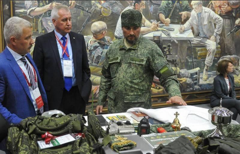 """""""Khaki vestments"""": 러시아 정교회는 위장 로브 재봉을 승인하지 않았습니다."""