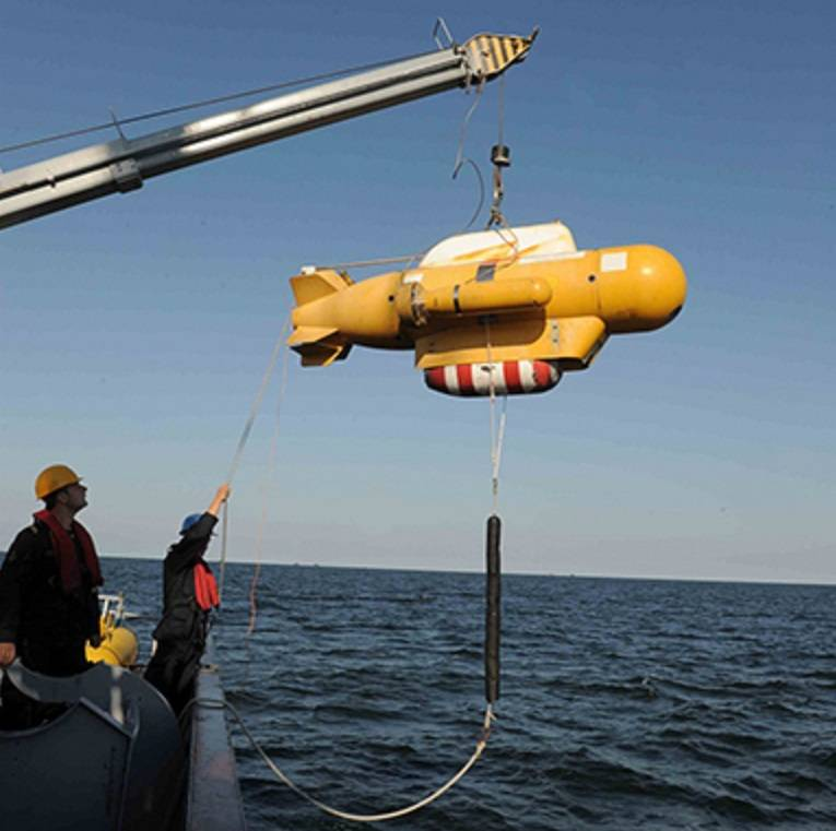 "Anti-mine ""thirty-four"": underwater vehicle RAR-104. Lessons and Conclusions"