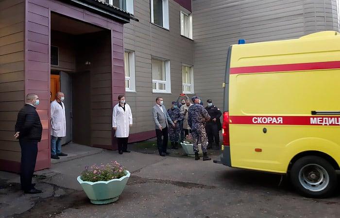 L'organizzazione israeliana ha difeso l'ospedale di Omsk, dove è stato ricoverato Navalny