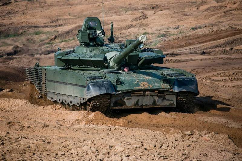 The Ministry of Defense signed a new contract for the modernization of T-80BV tanks
