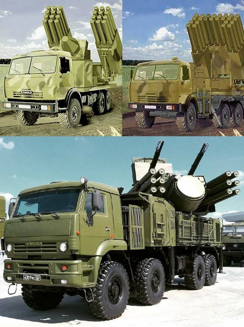 Unification of ammunition for self-propelled anti-tank systems, military air defense systems, combat helicopters and UAVs