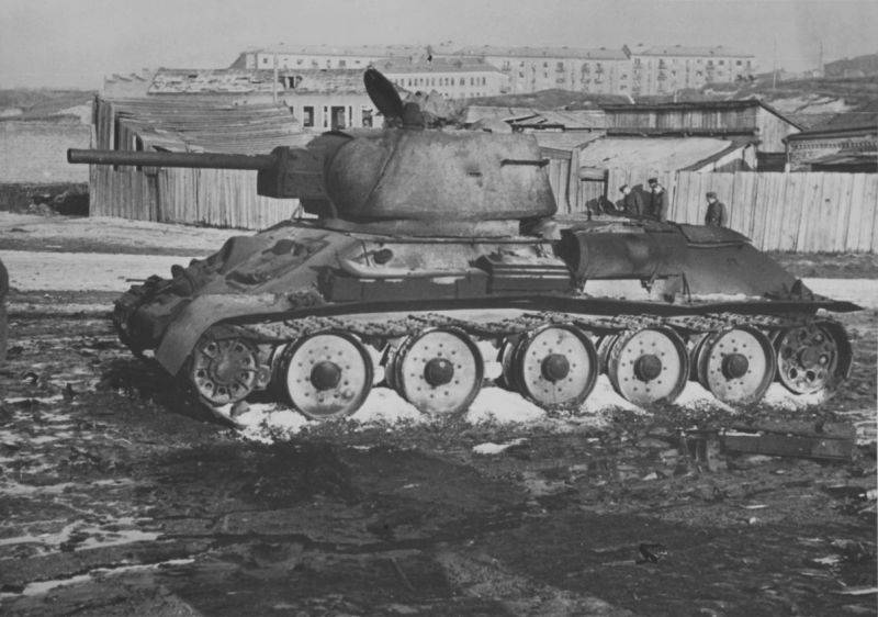 T-34 under enemy fire. Facts and statistics