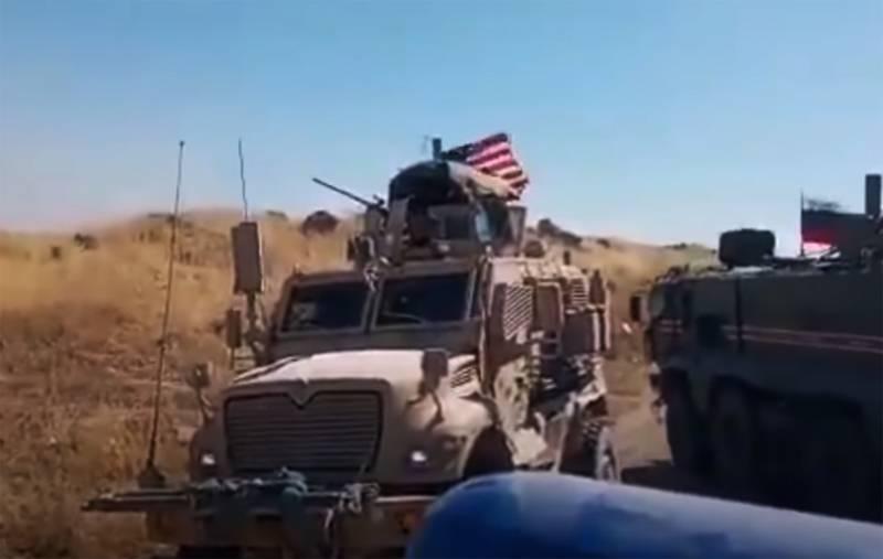 """""""यह अमेरिकी मरीन के लिए एक उपद्रव है"""": उत्तरी सीरिया में घटना का एक नया वीडियो सामने आया है"""