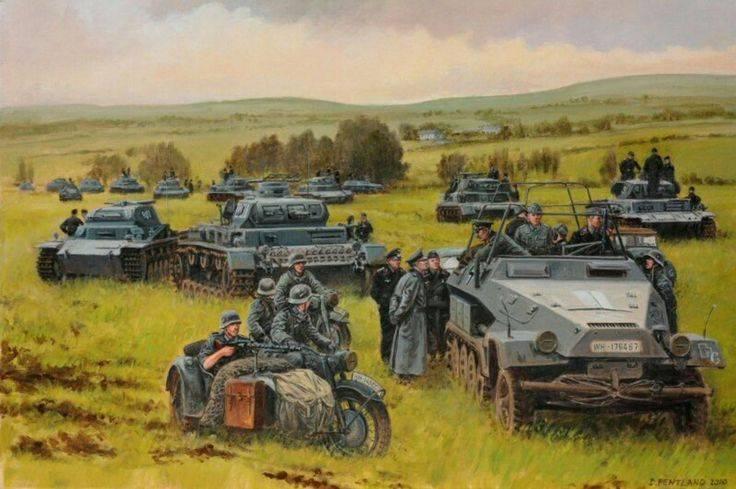 पूर्वी प्रशिया। युद्ध की पूर्व संध्या पर जर्मन मोबाइल सैनिकों