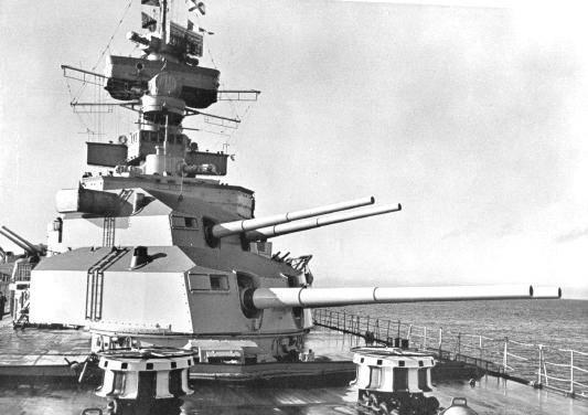 Barcos de combate. Cruceros. Hubo tres pesadillas ...
