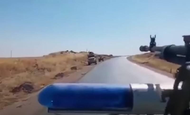 """美国警告俄罗斯,它将""""大力捍卫""""其在叙利亚的军队"""