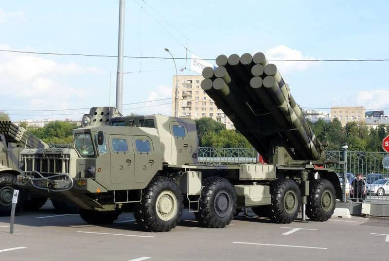 """用于MLRS""""龙卷风-S""""的新型导弹进行了测试"""