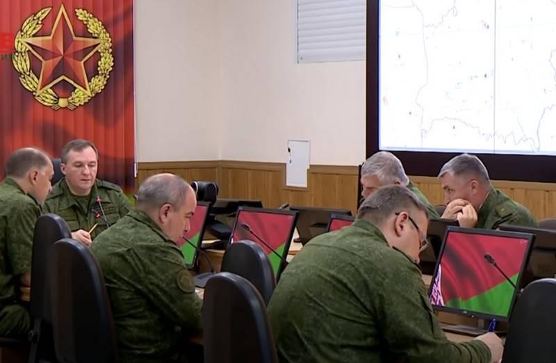 Belarus ordusu Grodno yönünde tatbikatlara başladı