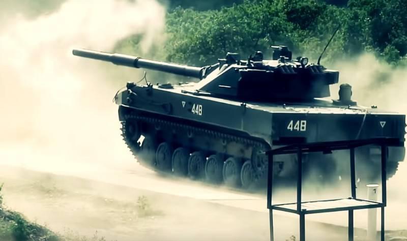 """Le char léger """"Sprut-SDM1"""" s'intéresse au Moyen-Orient"""