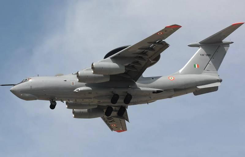 印度计划购买两架AWACS A-50EI飞机