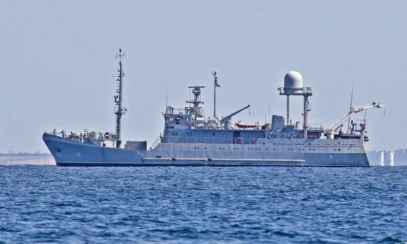 """O mais novo navio de reconhecimento """"Laguna"""" da Marinha ucraniana entrou em testes de Estado"""