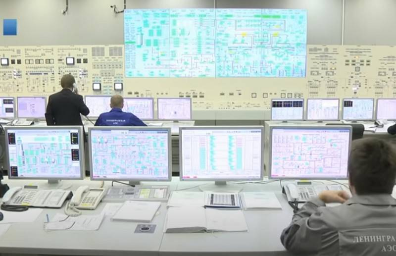 Nuclear reactor of new power unit launched at Leningrad NPP-2