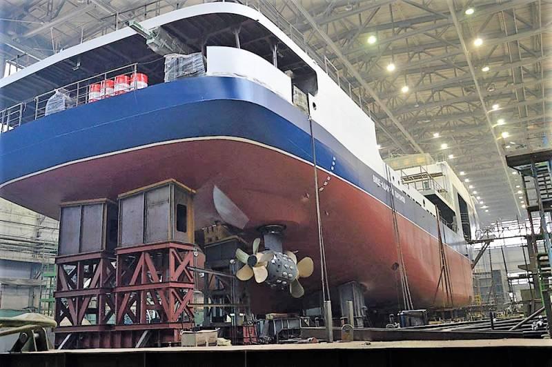 Первый танкер проекта 03182 идет на испытания