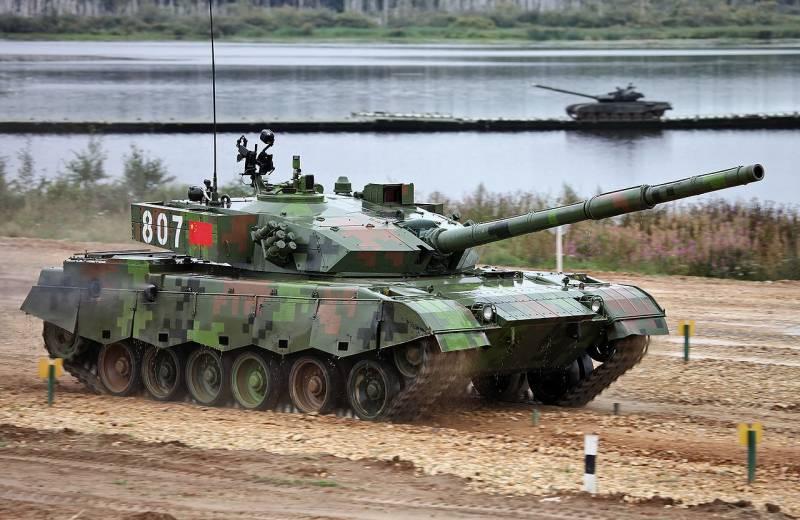 Каким будет китайский танк 4-го поколения?