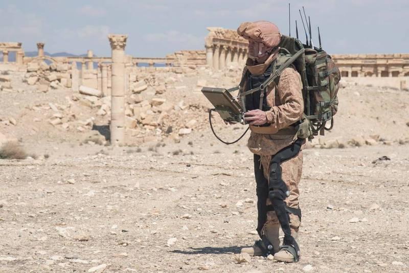 Экзоскелеты для боевой экипировки. Опыт России и США