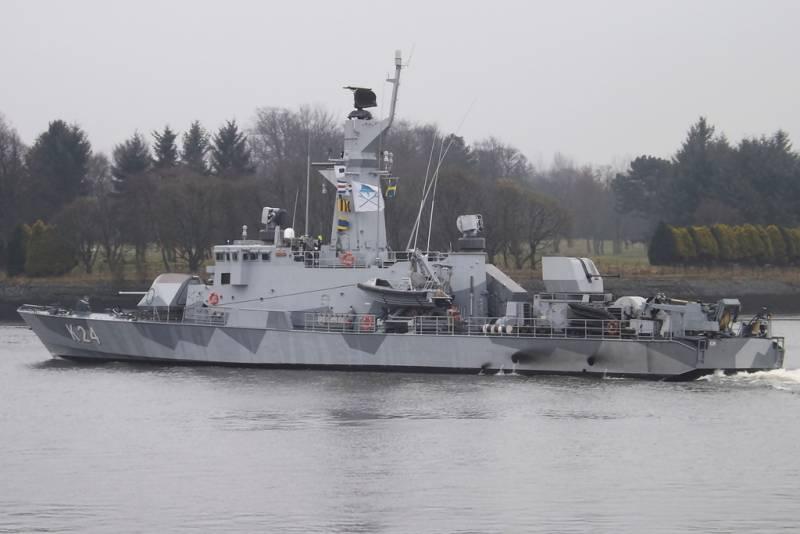 Швеция повышает свою боеготовность на Балтике