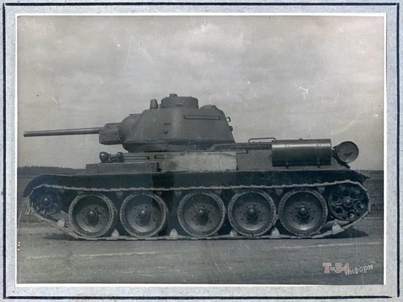 Т-34 под огнём противника. Факты и статистика
