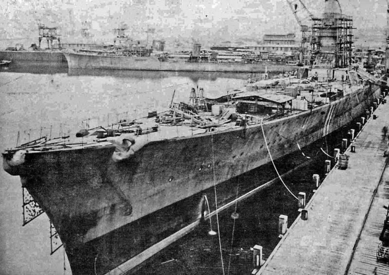 Боевые корабли. Крейсера. Служили три кошмарища…