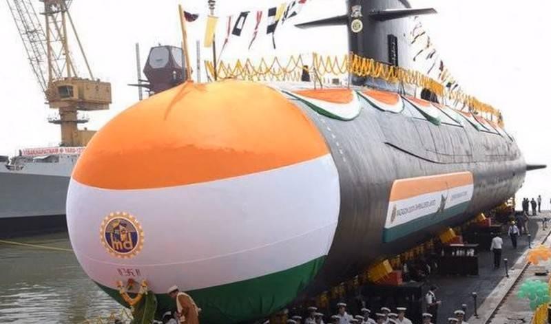 Ministério da Defesa da Índia pronto para anunciar licitação para construção de seis submarinos