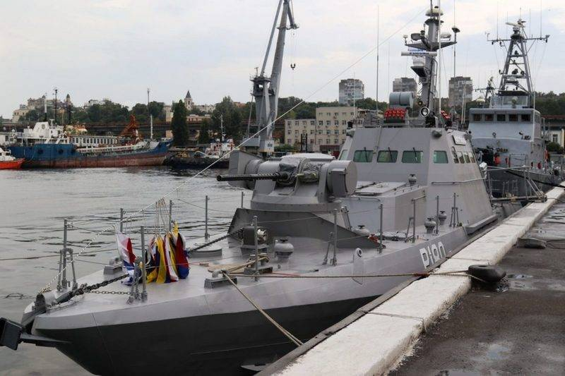 """The Ukrainian Navy was replenished with a small artillery boat of project 58155 """"Kostopol"""""""