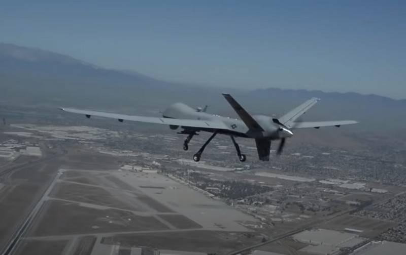 美国无人机MQ-9收割者被教导要独立选择目标