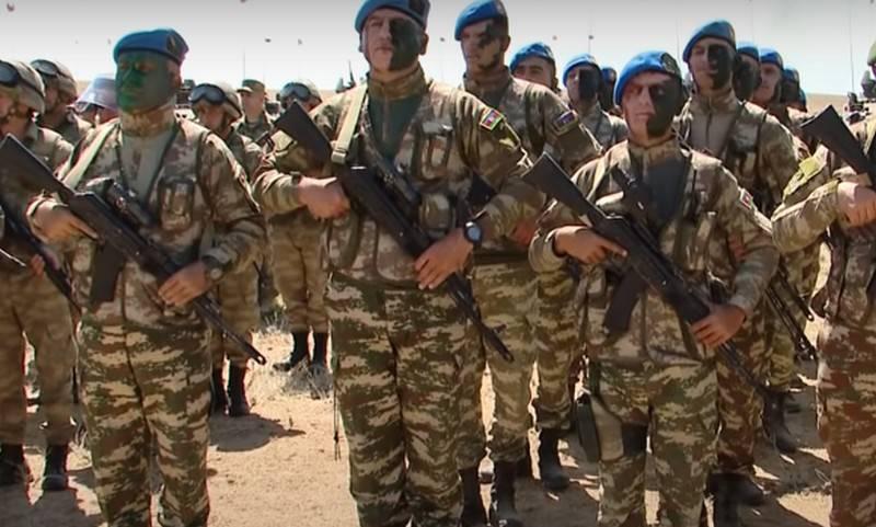 Азербайджан отказался принимать непосредственное участие в учениях «Кавказ-2020»