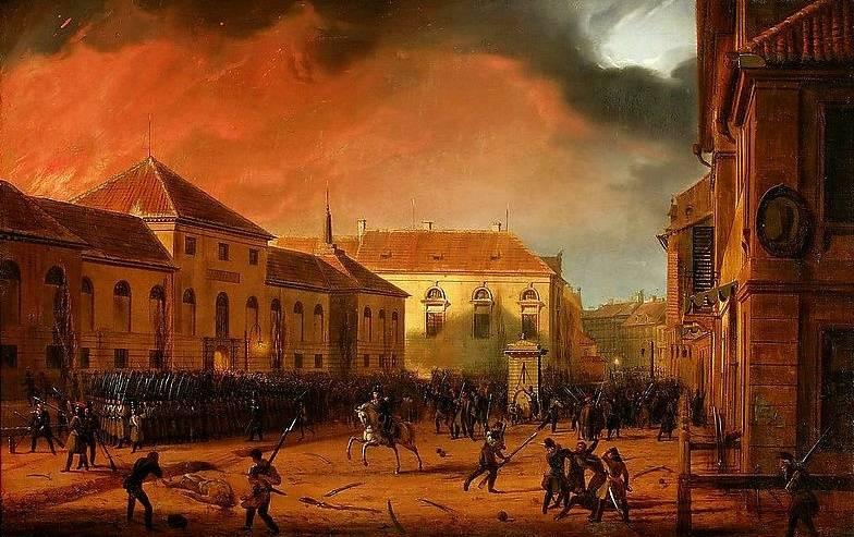 Razões para a revolta na Polônia em 1830-1831