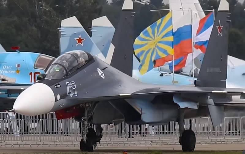 Primeiro Su-30SM2 equipado com motor AL-41F-1S a decolar antes do final do ano