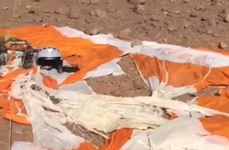 추락 한 비행기의 러시아어를 사용하는 조종사의 비디오가 웹에 나타났습니다