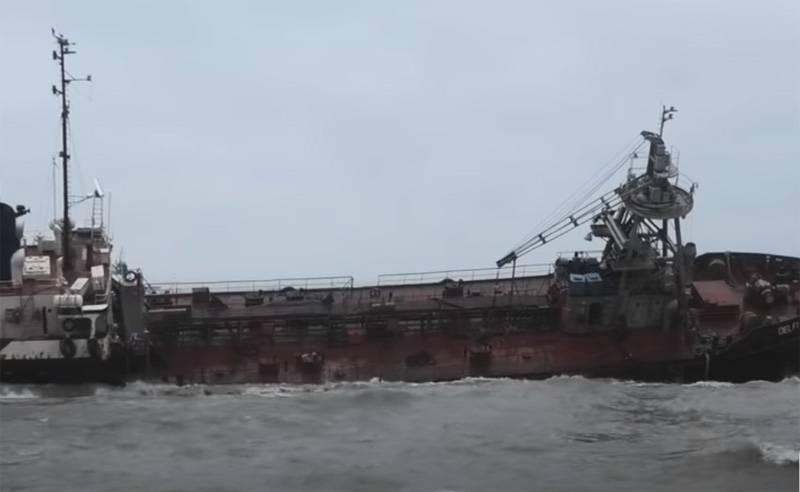 Ucrânia adiou mais uma vez a operação de levantamento do navio afundado perto de Odessa