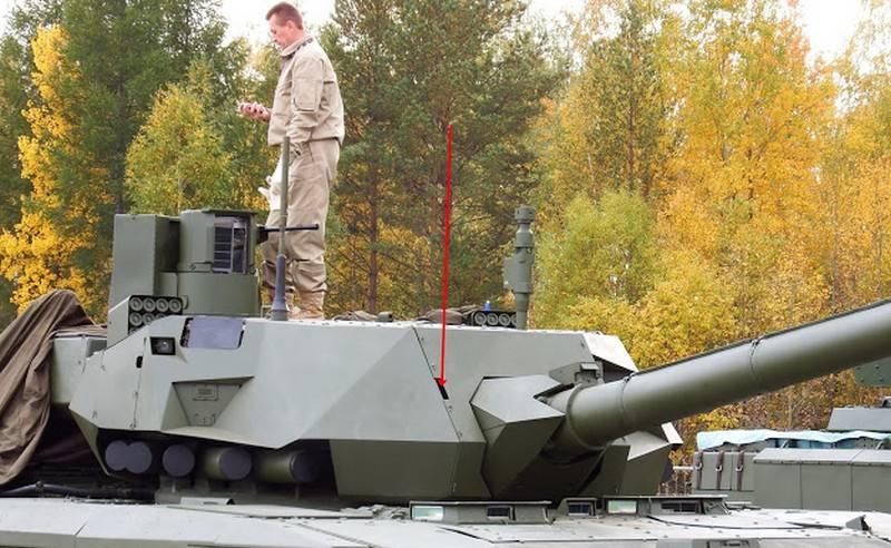 «Уралвагонзавод» рассекретил габариты танка Т-14 «Армата»