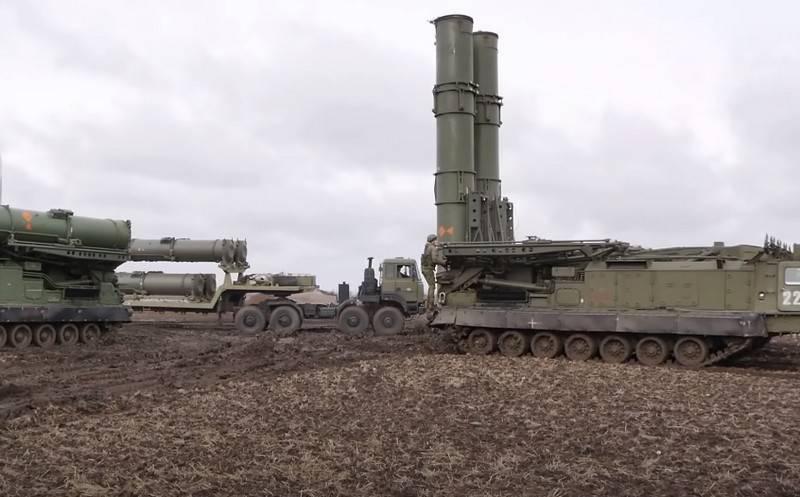 El primer sistema de defensa aérea S-300V4 entró en servicio con la formación de misiles VVO