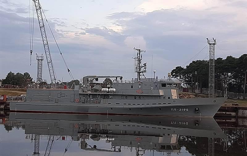 La torpediniera di piombo del progetto 1388N3T inviata per i test di stato
