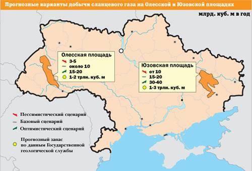 Shale gas dell'Ucraina. Burisma e compagnia