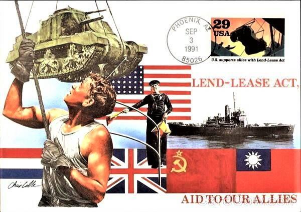 소련과 동맹국 : Lend-Lease의 기원
