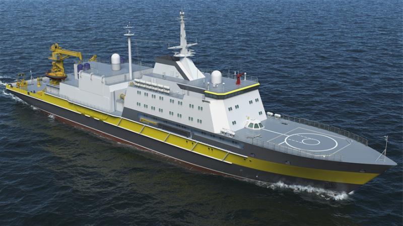 プロジェクト21300救助船の連続建設は延期