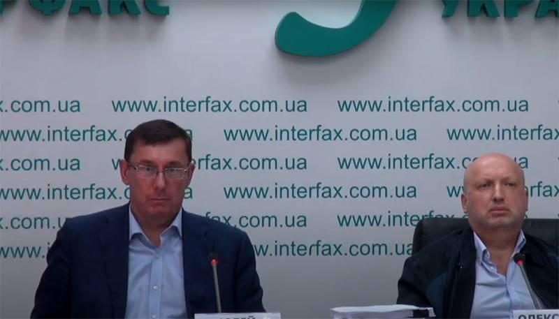 Lutsenko ve Turchinov'un basın toplantısı: Zelenski Kırım'a geri dönmek için gerekli araçlara sahip, ancak